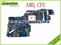 NOKOTION Laptop Motherboard for Toshiba Satellite L850D C850 PLAC CSAC UMA MAIN BOARD REV 2.1 DDR3 Mainboard H000041530