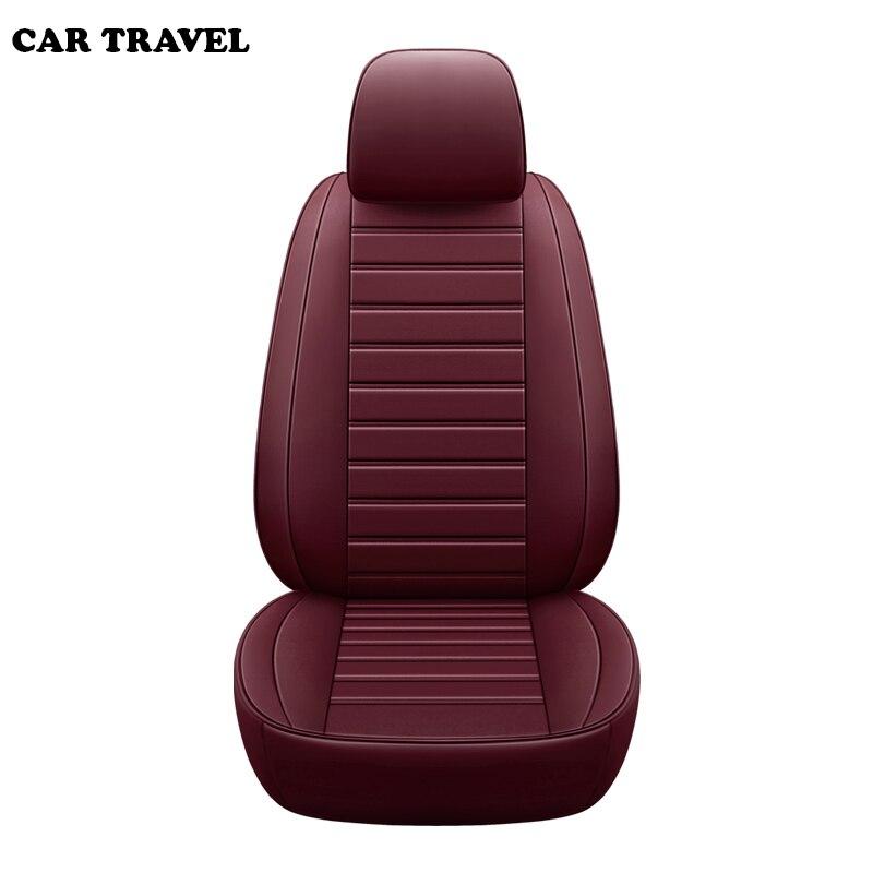 Personnalisé auto car seat cover pour peugeot 206 205 508 3008 106 301 407 tipi 307 sw 607 408 voiture sièges protecteur voiture de coiffure