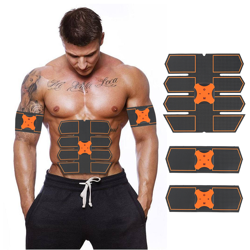 Sports & Entertainment Ab Rollers Smart Muscle Trainer Fitness Abdominal Sticker Body Muscle Massager Press Stimulator Pad Fitness Gym Equipment Abs Arm Stickers
