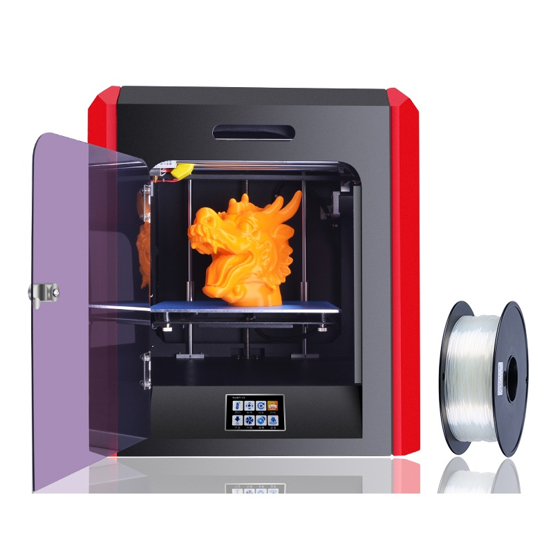 High Precision Large Build Size 200*200*200mm Professional 3 D Printers Impresora 3D Fully Metal Auto Level Color Change Print 853a bga constant temperature lead free preheating stations