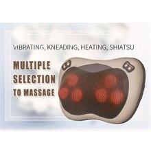 Infrared Shiatsu Vibrating Kneading Neck Body Massager