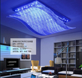 hot sales colorful modern wave crystal chandelier lustres home decorative lighting