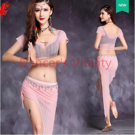 71267c98a14e New spring belly dance clothing women belly dance set 2pcs(top skirt ...