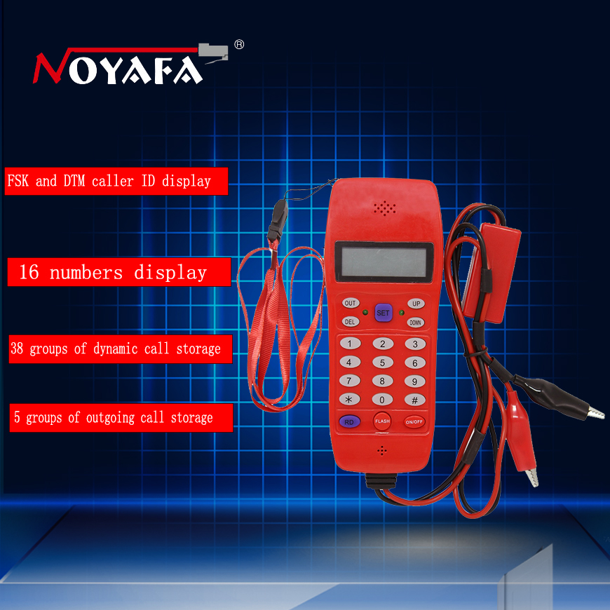 Phone Line Cable Tester Telephone fiber optical tool Check Phone DTMF Caller ID Auto Detection Search machine NF-866 kelushi nf 866 phone line cable tester telephone fiber optical tool check phone dtmf caller id auto detection search machine