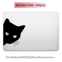 Black Cat Laptop Decal Sticker for Apple Macbook Decal Pro Air Retina Touch Bar 11 12 13 15 inch Vinyl Mac HP Surface Book Skin