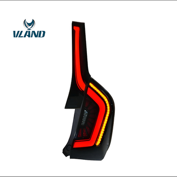 Vland Factory Car Accessories Tail Lamp for Honda Fit LED Taillight 2014-2018 with Sequential Indicator