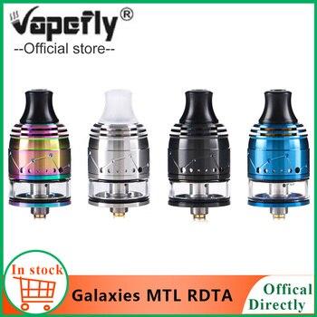 Vapefly Galaxias orixinais MTL Squonk RDTA 2ml Capacidade 22mm MTL RDTA Recheo / alimentación inferior Cdr antirrobo