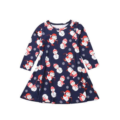 Detail Feedback Questions about 2018 Multitrust Brand Newborn Kids Baby  Girls Christmas Snowman Snowflake Long Sleeve Party Tutu Autumn Xmad Dress  on ... 4ebc76e18001