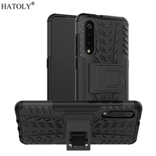 For Xiaomi Mi 9 Case Heavy Duty Armor Protective Hard Rubber Silicone PC Back Phone Cover for