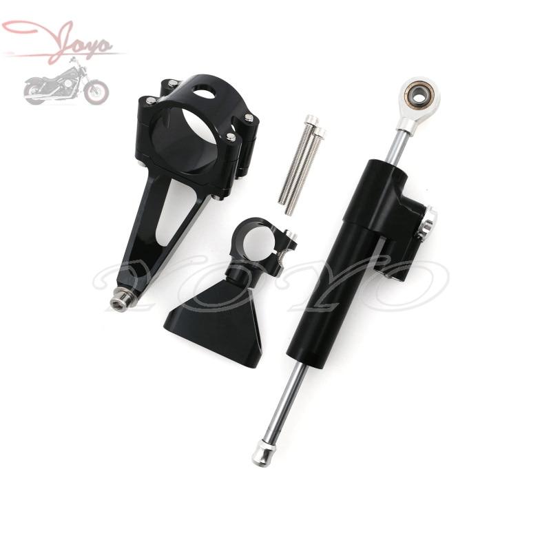 Steering Damper Stabilizer Bracket Mount Kit For Honda CBR600 F4i 1999 2000 2001 2002 2003 2004