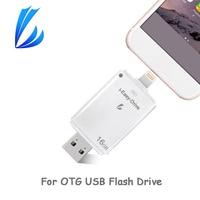 LL TRADER Ổ Đĩa Flash USB OTG 128 GB Bút Drive Key pendrive Cho iPad Android PC iPhone Mini Flash USB Drive iOS Bộ Nhớ USB Stick
