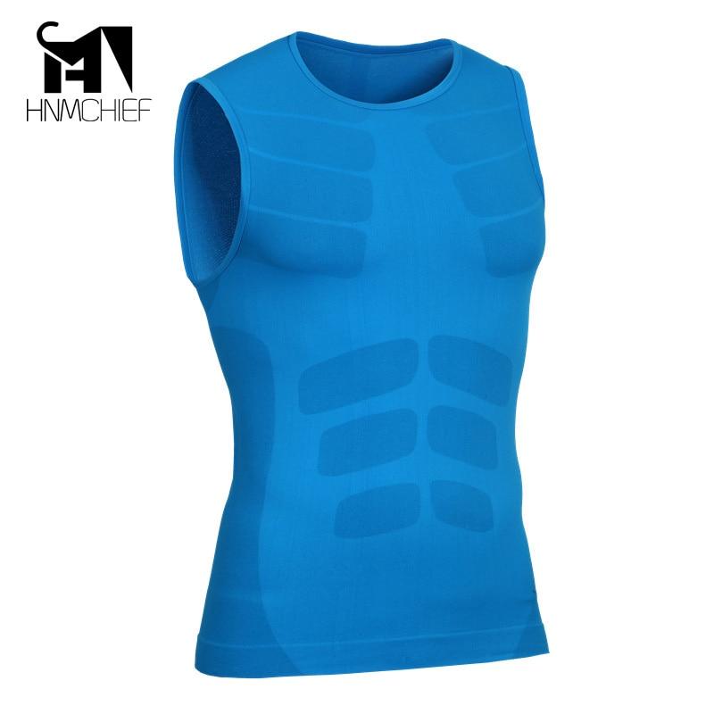 2017 Mannen Boy Body Compressie Base Layer Mouwloze Zomer Vest Thermische Onder Top Tees Tank Tops Fitness Panty Hoge Flexibiliteit
