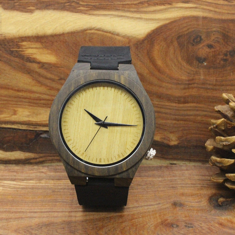 TJW Watches Mens Bamboo Wood Watches Chicago Bracelets