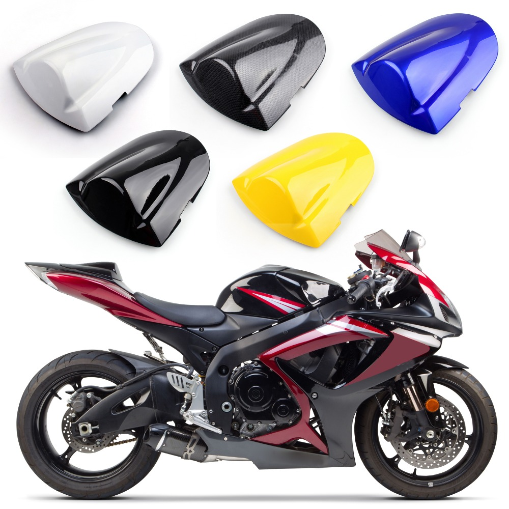 Areyourshop Motorcycle ABS Plastic Rear Seat Cover Cowl For Suzuki GSXR600/750 2006-2007 Motorbike Part New Arrival Styling