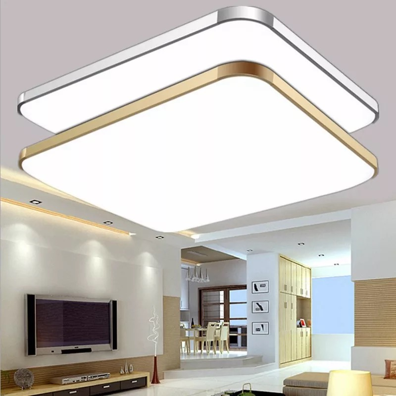 Ultra-thin LED Ceiling Light LED Ceiling Light Lighting Modern Lamp Living Room Bedroom Kitchen Surface Mount Remote Control