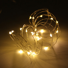 купить USB Powered LED String lights 1M 2M 3M 5M 10M Copper Silver Wire Fairy Garland For New Year Christmas Wedding Home Decoration дешево