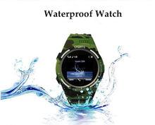 กันน้ำดูสมาร์ทTW320ซิงค์แจ้งเตือนสนับสนุน3กรัมซิมกล้องเครื่องเล่นชาร์จแม่เหล็กสำหรับว่ายน้ำและดำน้ำ
