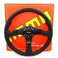 "Free Shipping: 14"" MOMO PU Steering Wheel / 350MM MOMO Steering Wheel PU / MOMO Sport Steering Wheel Racing Car Steering Wheel"