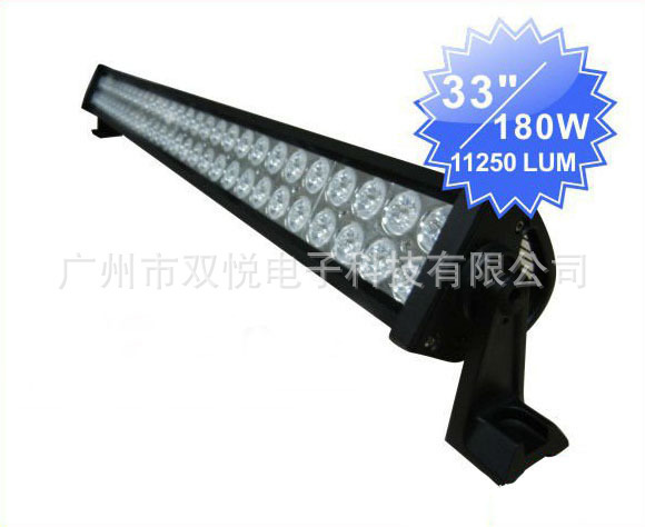 Factory Direct 180W High Brightness LED Strip Light / Off-road Lights Project Light Spotlight