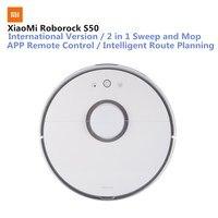 Оригинал Сяо mi Roborock умный пылесос mi Интеллектуальный робот Сенсор LDS планированию маршрутов mi Цзя приложение Remote Управление 2000 Pa