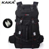 KAKA Large capacity 55L Travel Backpack bag for Men's Backpack Men Bag Luggage Shoulder Bag Water Proof Notebook Travel back Bag