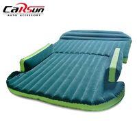 Автомобильный воздушный матрас надувная воздушная кровать Авто Путешествия Кровать влагостойкая Подушка сиденье задний интерьер Кемпинг