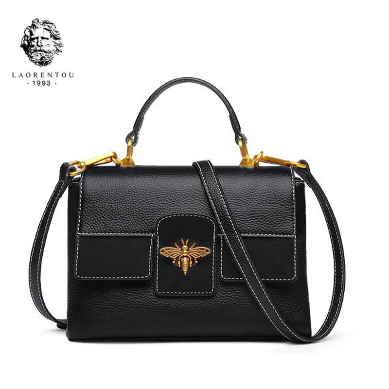 цены LAORENTOU Brand handbags Fashion Shoulder Messenger Bag 2018 new fashion small square package handbag