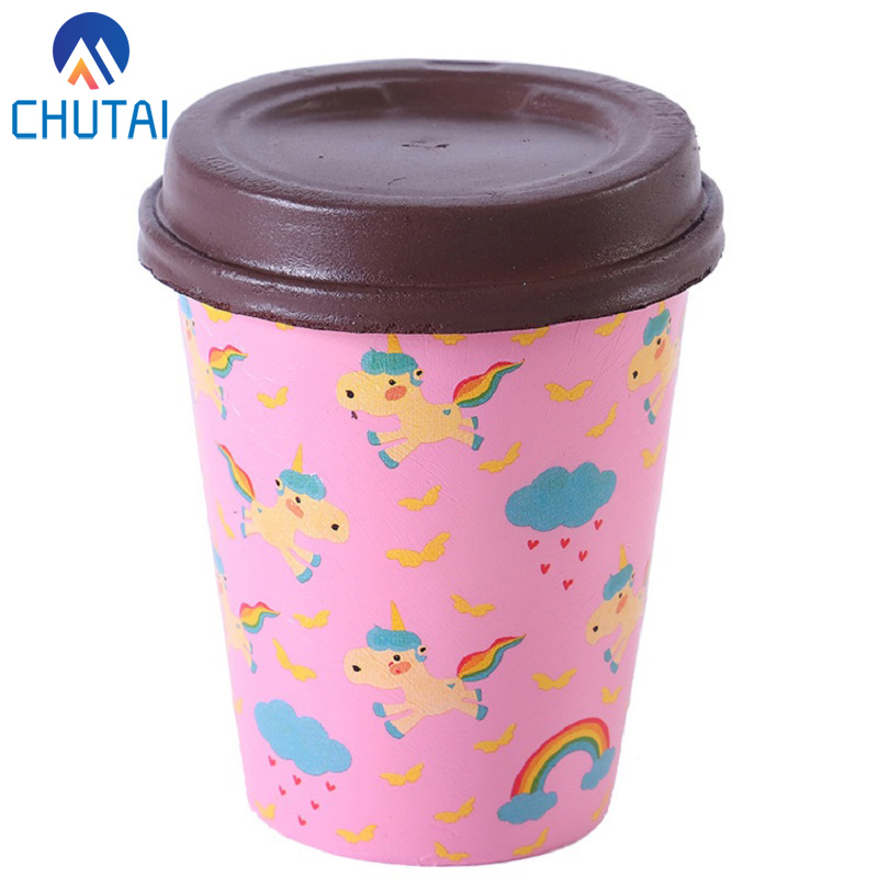2018 New PU Simulation Coffee Cup Squishy Stress Reliever Squishy Slow Rising Squeeze Toys for Kids Adult 10*8CM2018 New PU Simulation Coffee Cup Squishy Stress Reliever Squishy Slow Rising Squeeze Toys for Kids Adult 10*8CM