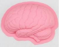 Model TINB188 Creative DIY Brain Silicone Cake Mold Silicone Cake Pan Silicone Bakeware Tool High Quality