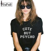 Психо мило, tumblr но футболку рок о-образным панк harajuku т xl