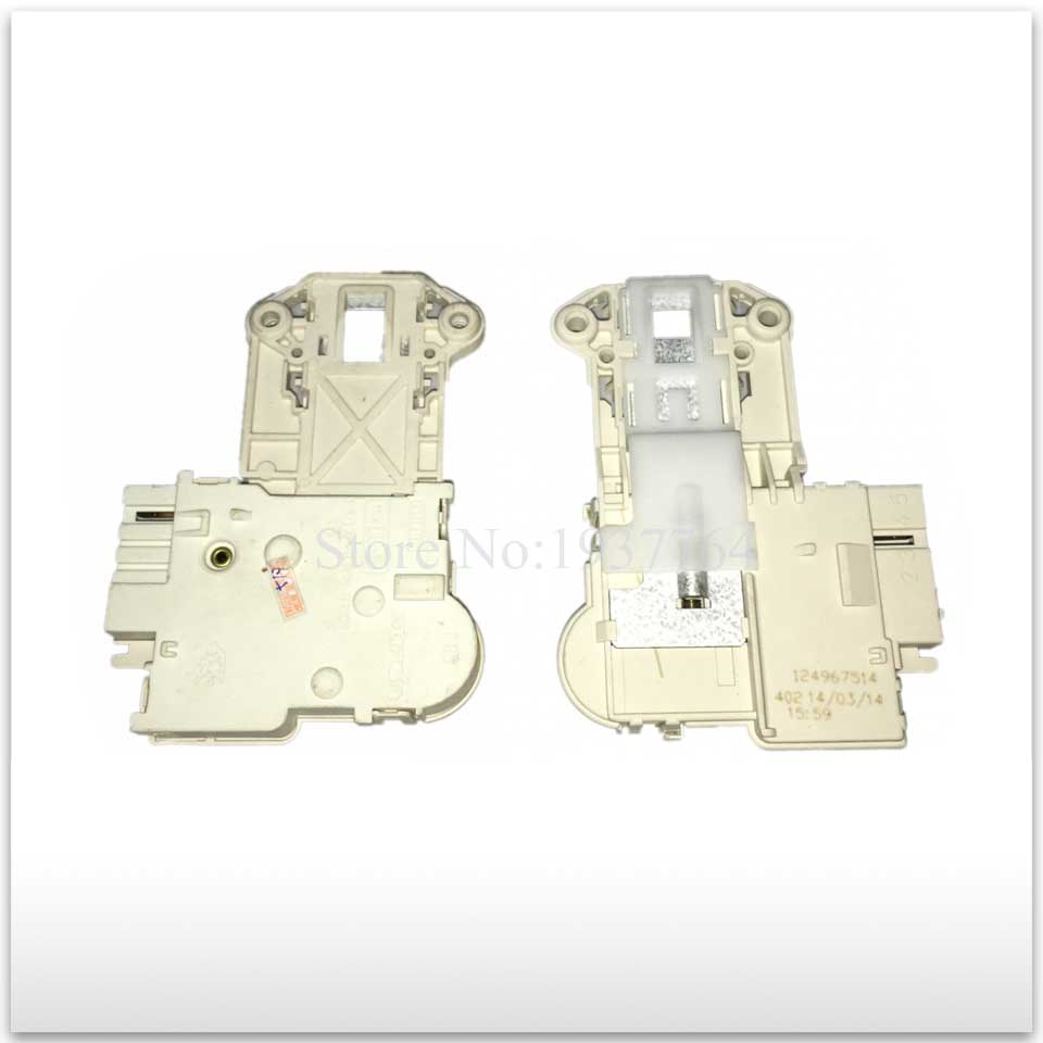 все цены на 1pcs for Electrolux washing machine electronic door lock delay switch EWS650 EWS850 EWS1050 EWS1250 4 insert
