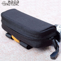 Quality Tactical MOLLE Goggle Sun Eye Glasses Case Pouch Holster Modular Hardshell Tactical Goggle Case Black