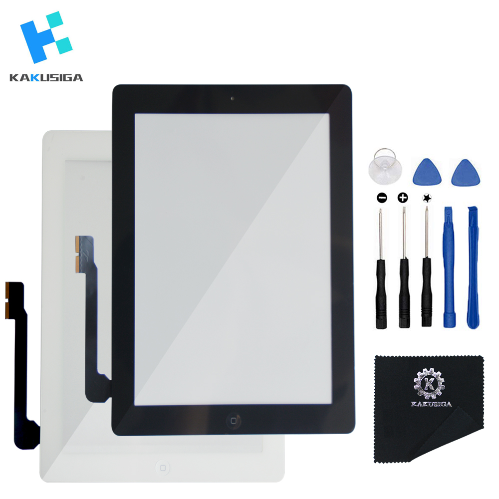 Aikuyi Original Screen For Ipad 3rd Touch Screen Glass Digitizer Replacement Adhesive Tape,repair Tools Kit For Sale Home Button Flex