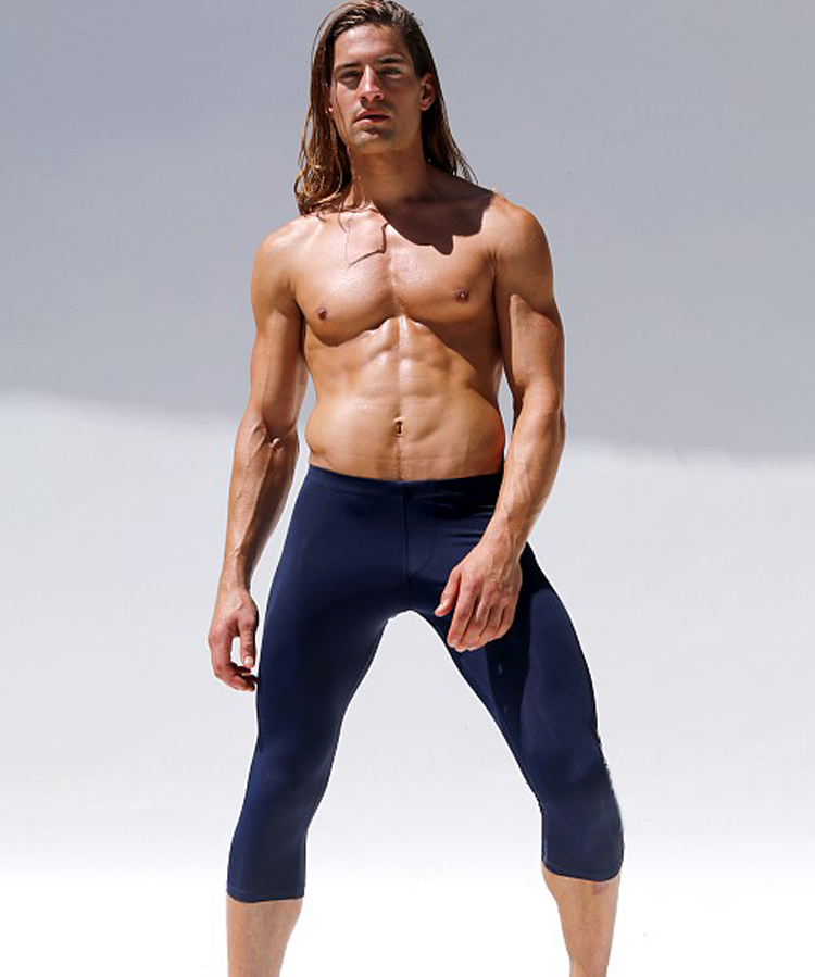 Sports tights 7 minutes basketball leggings breathable dry high stretch running workout pants in Sleep Bottoms from Underwear Sleepwears