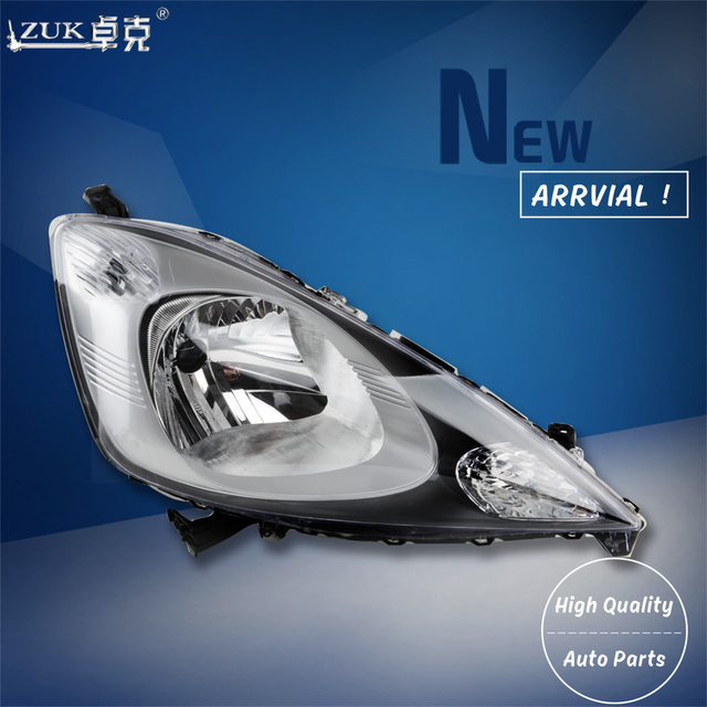 Zuk Auto Car Front Per Headlight Headlamp Head Light Lamp For Honda Fit Jazz 2009 2010 2017 Ge6 Ge8 High Quality Replacement In Embly From