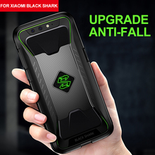 For Xiaomi Black Shark Cover Soft TPU Heat Dissipation Case For Game Black Shark Simple Hollow Out Anti knock Protective Case