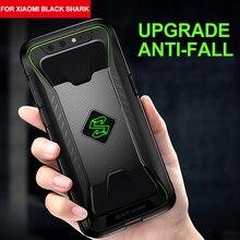 Voor Xiaomi Black Shark Cover Soft Tpu Warmteafvoer Case Voor Game Black Shark Eenvoudige Holle Out Anti Klop beschermhoes