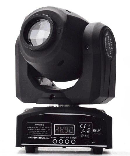 Высокая мощность 60 Вт LED мини движущихся голову пятно света led dmx гобо свет для профессиональной сцене и DJ