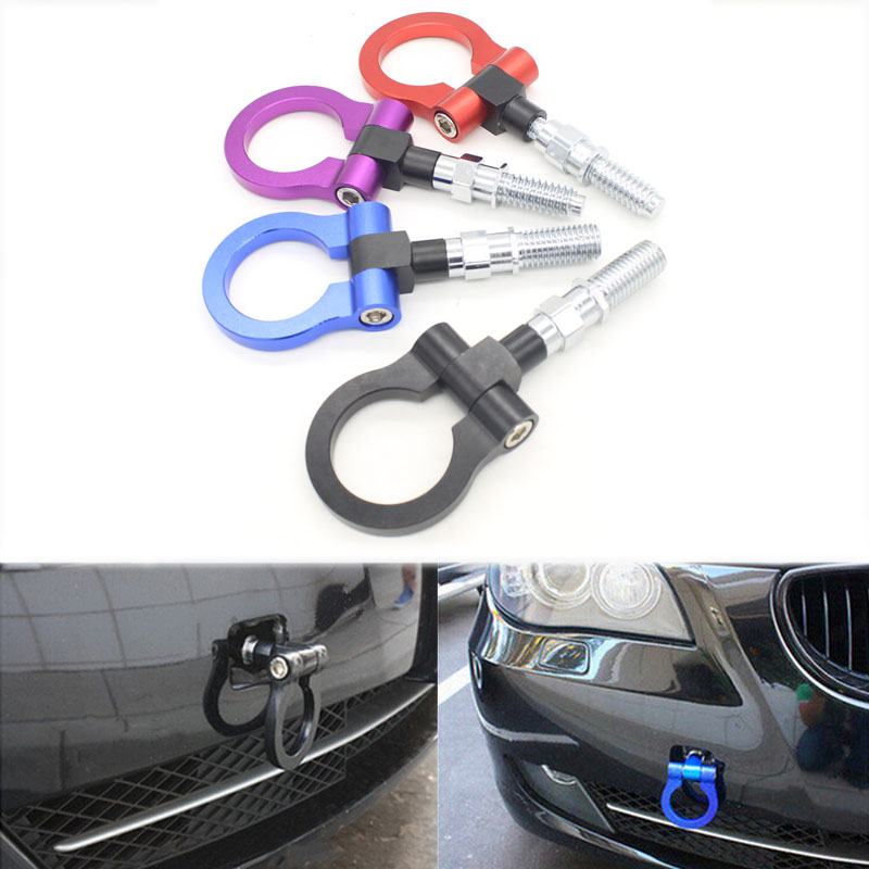 Dongzhen Universal Racing Towing Car Tow Hook Fit For Nissan TOYOTA HONDA LEXUS MITSUBISI Japanese Auto