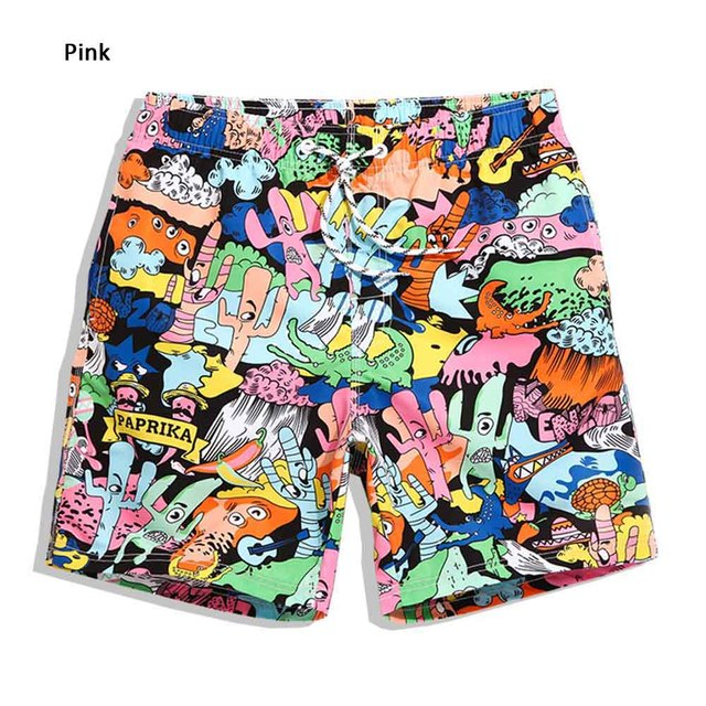 Swimsuits Brand Clothing Man Men's Trousers Surfwear Shorts Men's Brand Clothing Hot Summer Shorts With High Waist QMA233