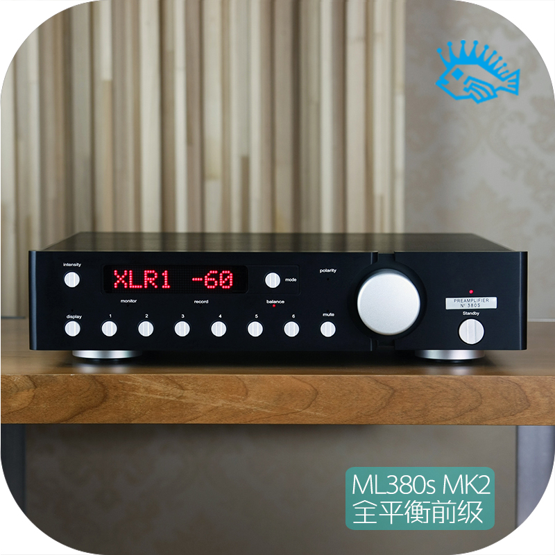 Music Hall Luxury Fully Balanced Pre-amp HIFI Preamplifier XLR Input Remote Control LED Refer to ML380s cs3310 remote preamplifier board with vfd display 4 way input hifi preamp remote control digital volume control board