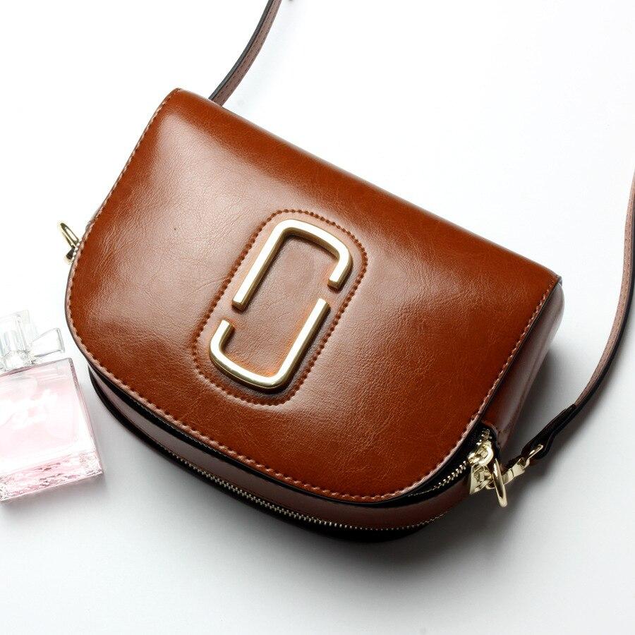 ФОТО 2017 New Women's Genuine Leather Shoulder Messenger Bag Fashion Cross body Shell Bags