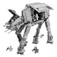 Новый Лепин Звездные Войны Серия Силой Пробудить AT-AT Транспортировка Бронированных Роботов 75054 Строительные Блоки Кирпичи Развивающие Игрушки Подарки