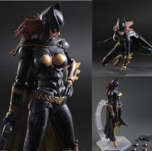 цена на Justice League Batman: Arkham Knight  PVC Action Figure Collectible Model Toys For Gifts 25cm