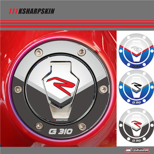 3D Tank Gas Cap Pad Pad Filler Cover Sticker decals Fit BMW G310R G310 R 2017 2018(China)