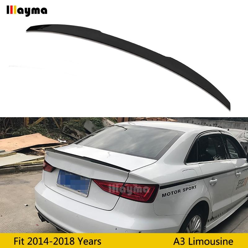 Audi A4 Ultrasport For Sale: V Style ABS Rear Trunk Spoiler For Audi A3 Sline S3