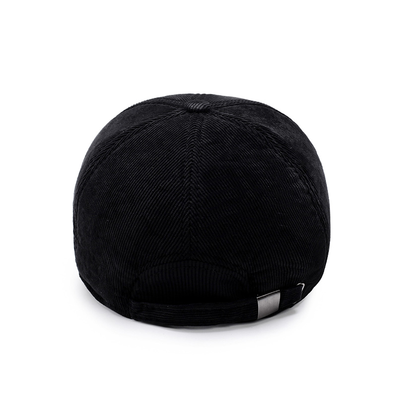 AETRENDS  Winter Male Hats for Men Corduroy Baseball Cap with Ears  Protection 6 Panel 470ecd0c4bfc