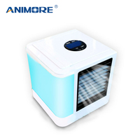 ANIMORE 2018 New Mini Air Cooler Fan Cooling For Home Office USB Portable Electric Fan 7 Colors Desktop Air Cooling Fan