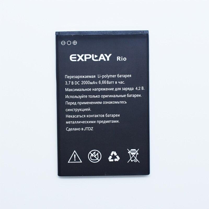 Hekiy Nouveau 1800 mAh Batterie De Remplacement Pour Explay Rio Jouer Mobile Téléphone Haute Qualité + de Suivi Cordon