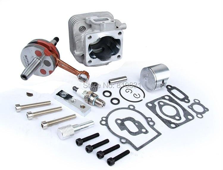 Детали двигателя, 30.5cc комплект Cylinde обновления, четыре головки болта бесплатная доставка